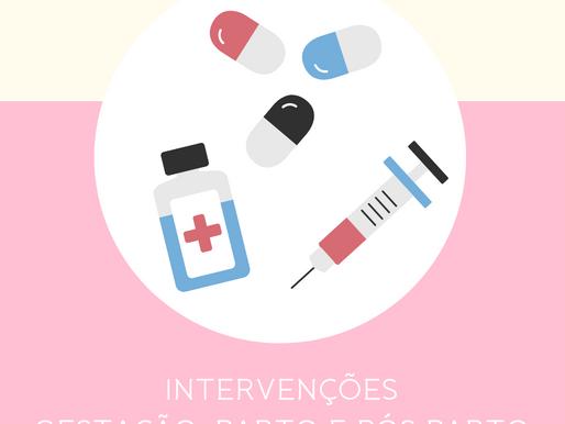 As 50 intervenções desnecessárias durante a gravidez, parto e pós parto