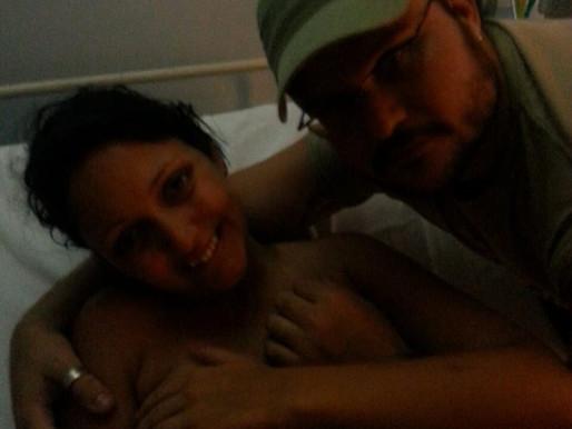 [Relato de parto] Nascimento da Maria - Vanessa Saraiva - Parto natural no SUS