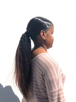 xtension Ponytail with custom color