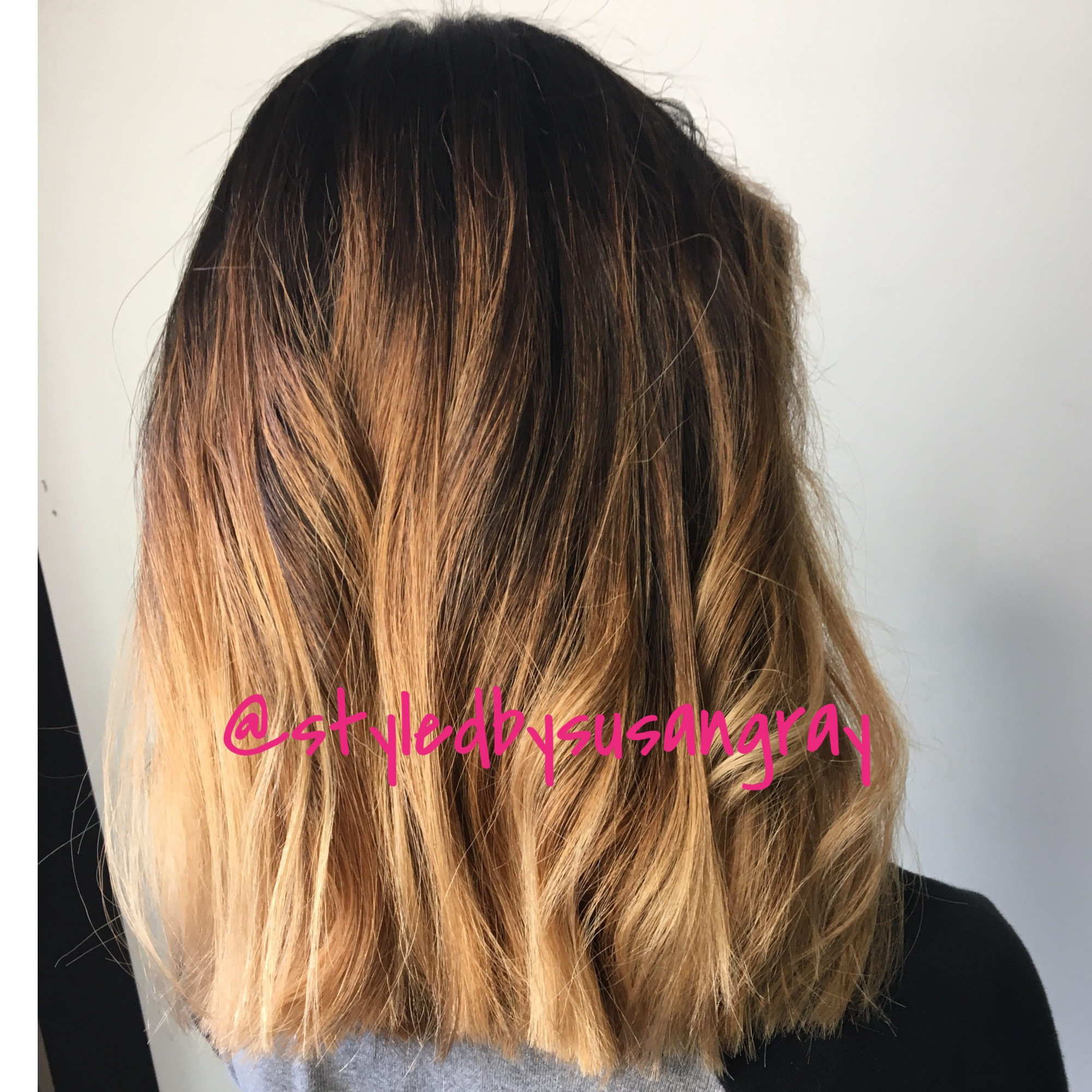 Hair cut And Balayage