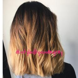 Hair cut And Balayage