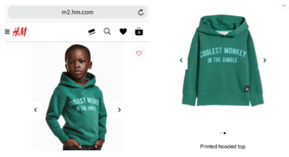 Is Black twitter being a Crybaby about H&M coolest monkey?