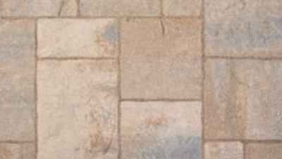 Rustic Lafitt Patio Slab 3 pc Danville Beige