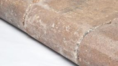 "Ashbury Haze Universal Bullnose Weathered - 3 1/8"" Thick"