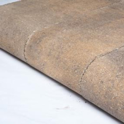 """Gascony Tan Universal Bullnose Non-Weathered - 3 1/8"""" Thick"""