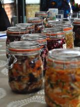 Fermentation workshop jars