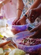 Fermentation workshop hands