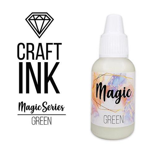 Спиртовые Чернила Craft  INK, Magic Series,Green, 20мл