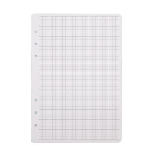 """Сменный блок, White """"Grid"""",с клеточной разметкой, 40 л."""