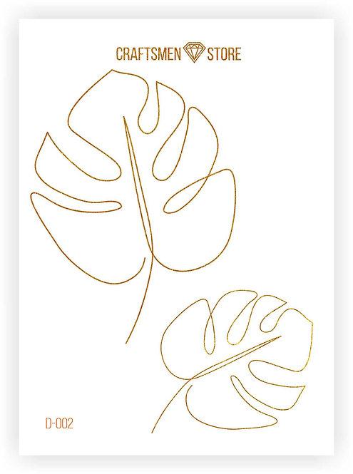 Наклейка серия Line Art D-002