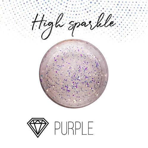 Глиттер серии High Sparkle, Purple, 15гр