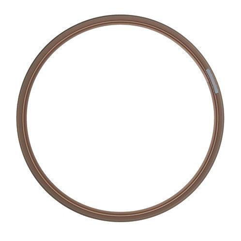 Рамка круглая метал, Розовое золото (L) d50cm