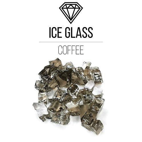 Стеклянная крошка Ice Glass,Coffee, 500гр