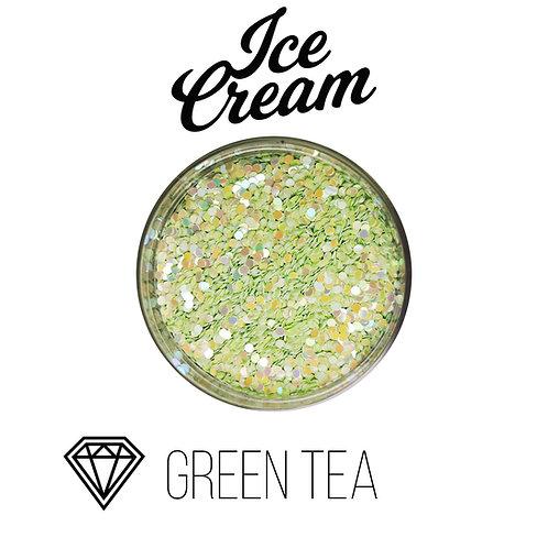 Глиттер серии Ice Cream, Green Tea, 15гр