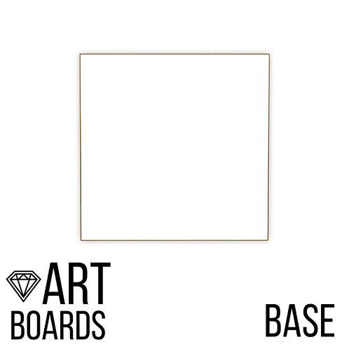 ART Board Base, квадратный с рамкой из массива,40х40см