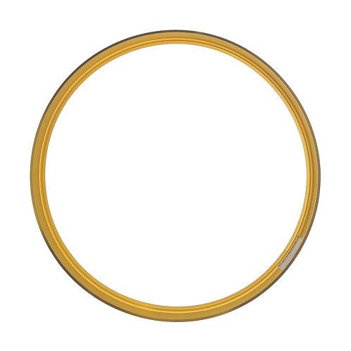 Рамка круглая метал, Золото (М), d 39cm