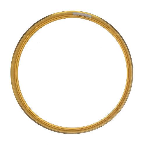 Рамка круглая метал, Золото (XL), d59cm