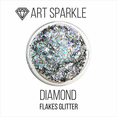 Глиттер серии FlakesGlitter, Diamond