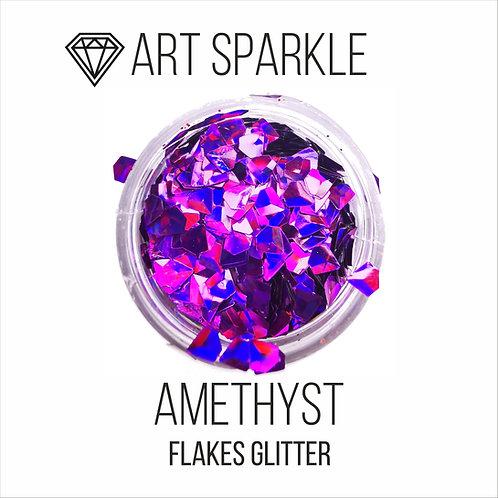 Глиттер серии 3D Jewel Glitter, Amethyst,10гр
