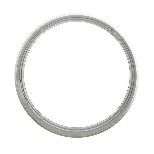Рамка круглая метал, Серебро (S), d29