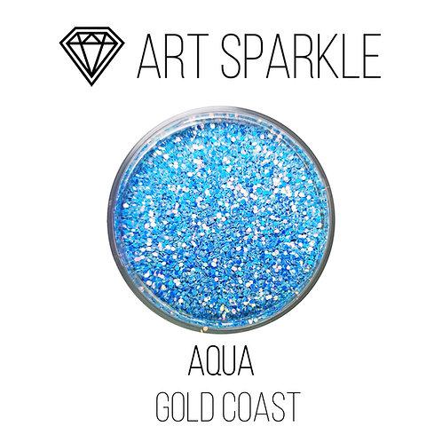 Глиттер серии GOLD COAST, Aqua, 50гр