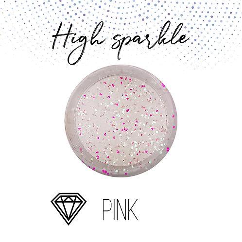 Глиттер серии High Sparkle, Pink, 15гр