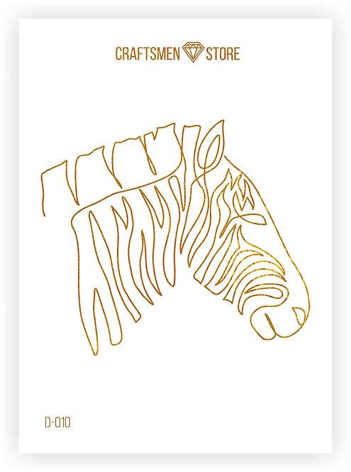 Наклейка серия Line Art D-010