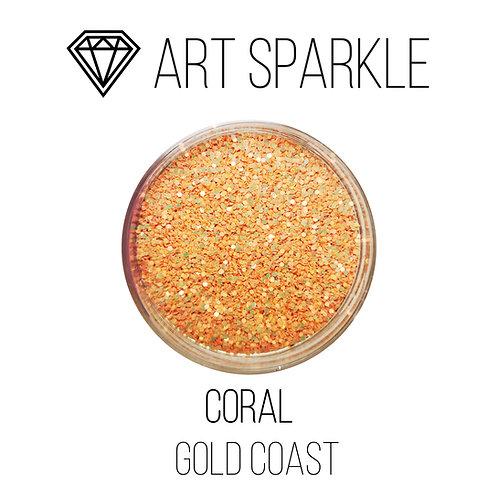 Глиттер серии GOLD COAST, Coral, 50гр