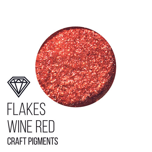CraftPigments Flakes  Wine Red 25мл