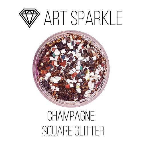 Глиттер серии Square Glitter, Champagne,50гр