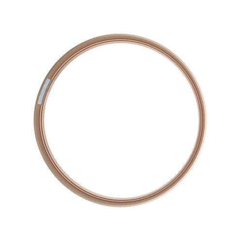 Рамка круглая метал, Розовое золото (S)d30cm