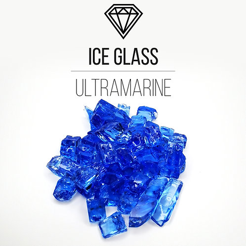 Стеклянная крошка Ice Glass,Ultramarine, 500гр