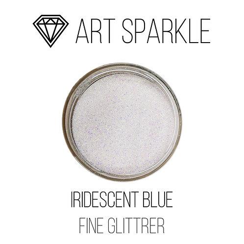 Глиттер мелкий Iridescent Blue, 50гр