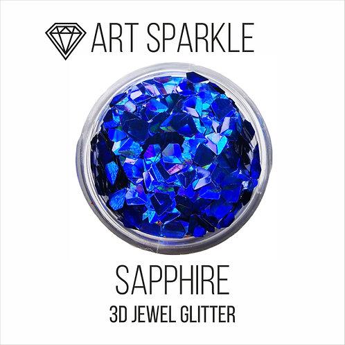 Глиттер серии 3D Jewel Glitter, Sapphire