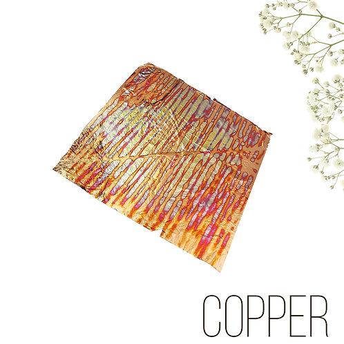 """Поталь-фольга с разводами Multicolor Patter №1  """"Cooper"""", 10шт., 14*14см"""
