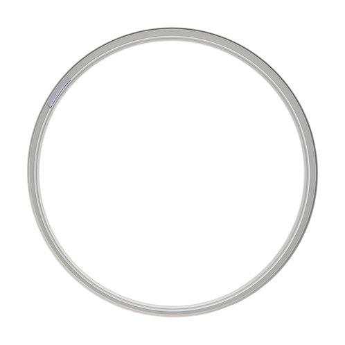 Рамка метал, Серебро (L), d50cm