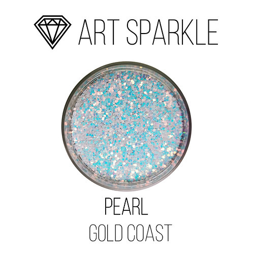 Глиттер серии GOLD COAST, Pearl, 50гр