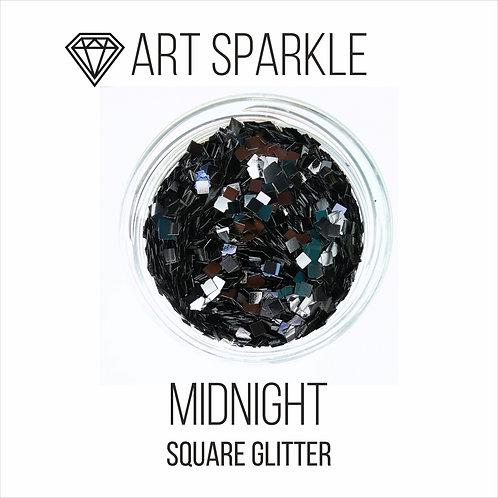 Глиттер серии SquareGlitter, Midnight, 50гр