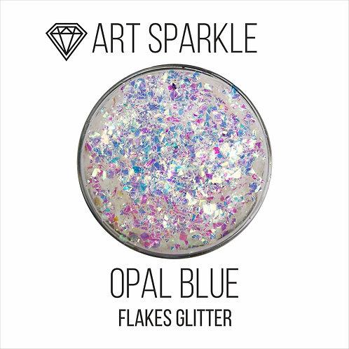 Глиттер серии FlakesGlitter, Opal blue, 40гр