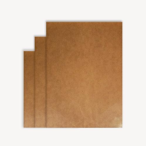 Набор ART Board, прямоугольный с рамкой из массива, 3шт,30*40, 40*50, 40*60