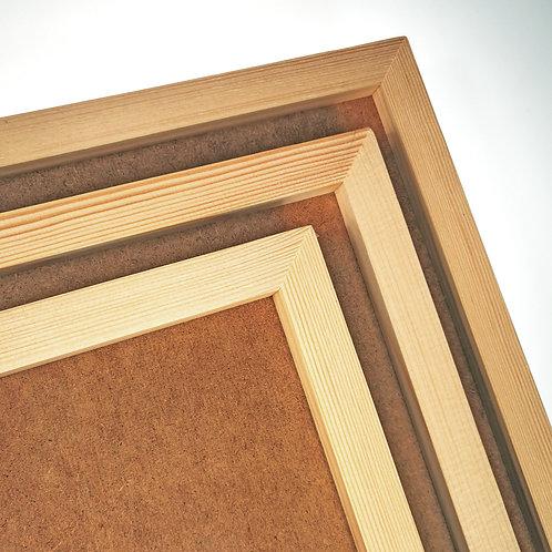 Набор ART Board,  прямоугольный с рамкой из массива, 3шт