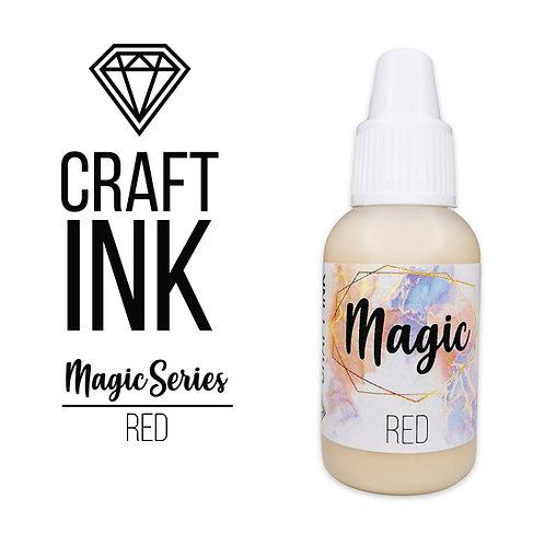 Спиртовые Чернила  Craft  INK, Magic Series, Red, 20мл