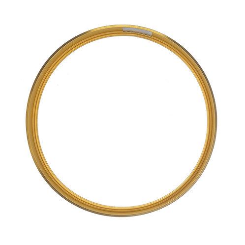 Рамка круглая метал, Золото (S),d30см