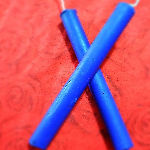 שעווה כחולה