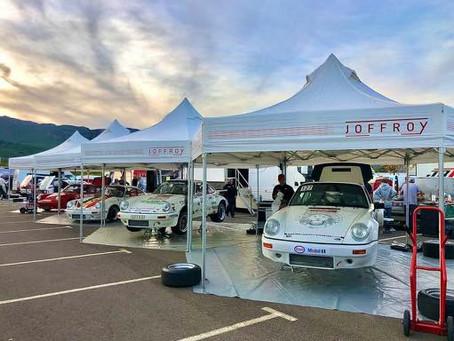 Le Team Joffroy au départ du Tour de Corse Historique