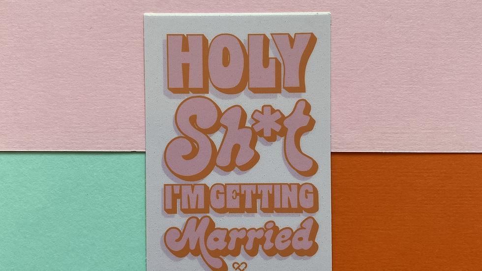 Holy Sh*t Sticker