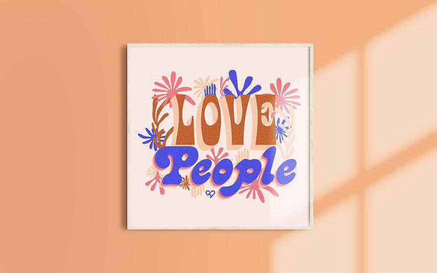 Love People Print