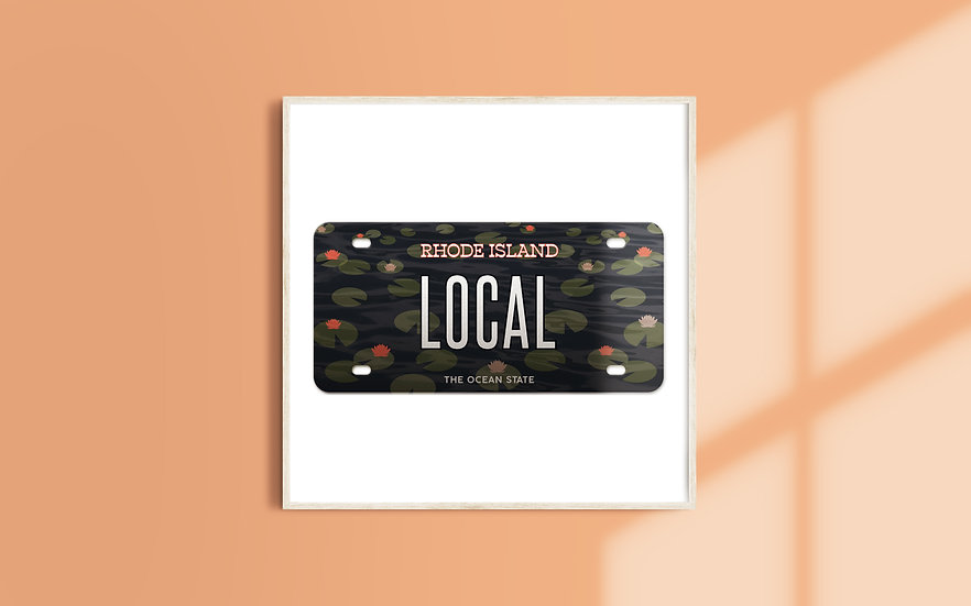 Rhode Island License Plate