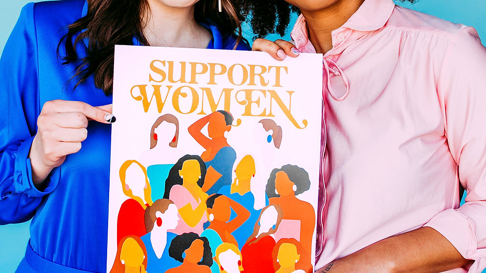 Support Women Large Print