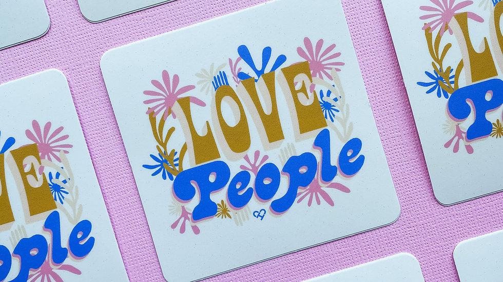 Love People Sticker